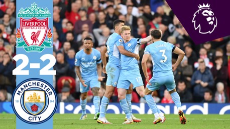 Highlights: Liverpool 2-2 City