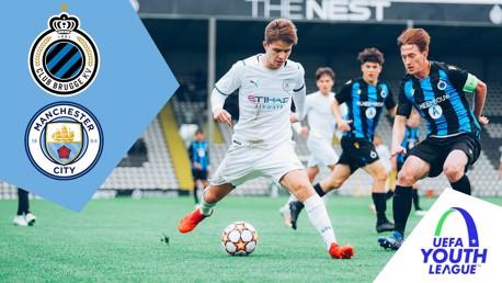 Club Brugge v City U19s: Full Match Replay