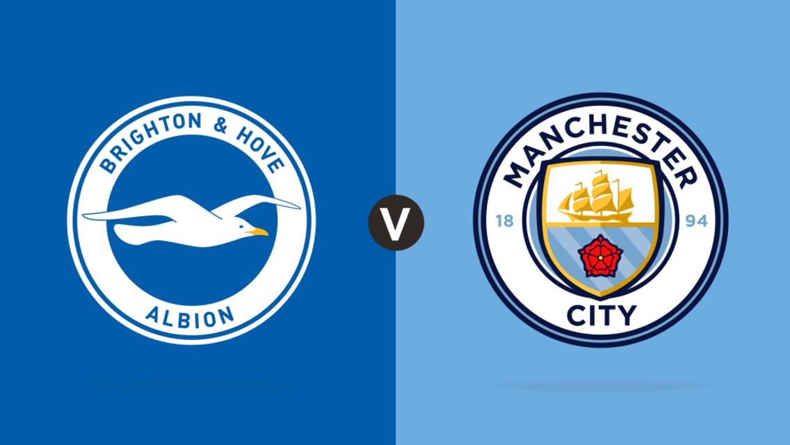 Brighton v Manchester City: MATCHDAY LIVE