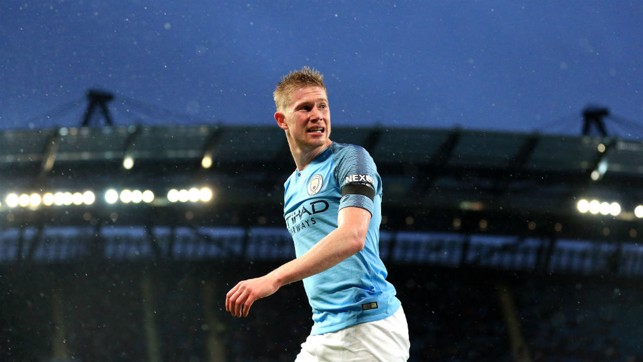 MAN OF THE MATCH : Kevin De Bruyne.