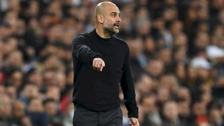 Guardiola elogia la actuación en el Bernabéu
