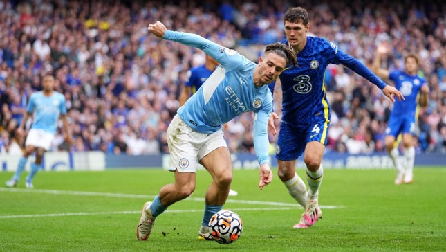 SUPER JACK: Grealish keeps City on the front foot.