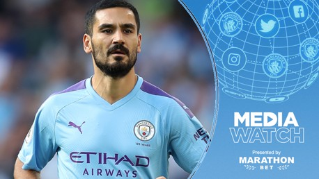 WISE WORDS: Ilkay Gundogan says City's pressure comes from within