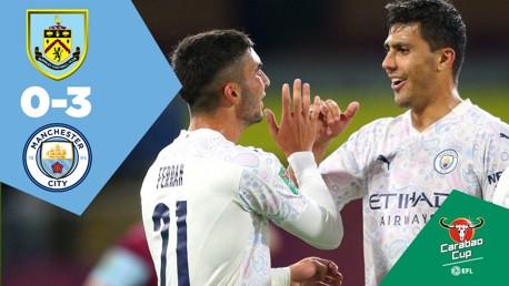 Burnley 0-3 City: Full-match replay