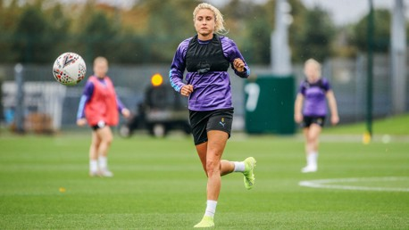 SKIPPER: Ever-focused, captain Steph Houghton