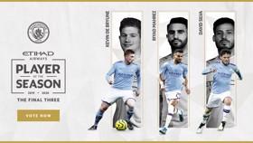 Etihad Player of the Season: Final shortlist revealed!