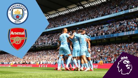 City 5-0 Arsenal: Full-match replay