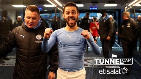 City - United: desde el túnel