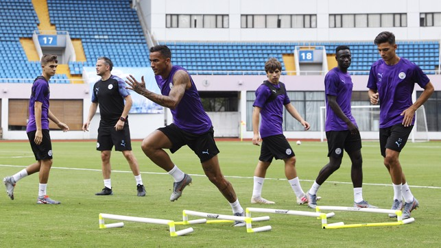 PACE TEST : Danilo leads the way