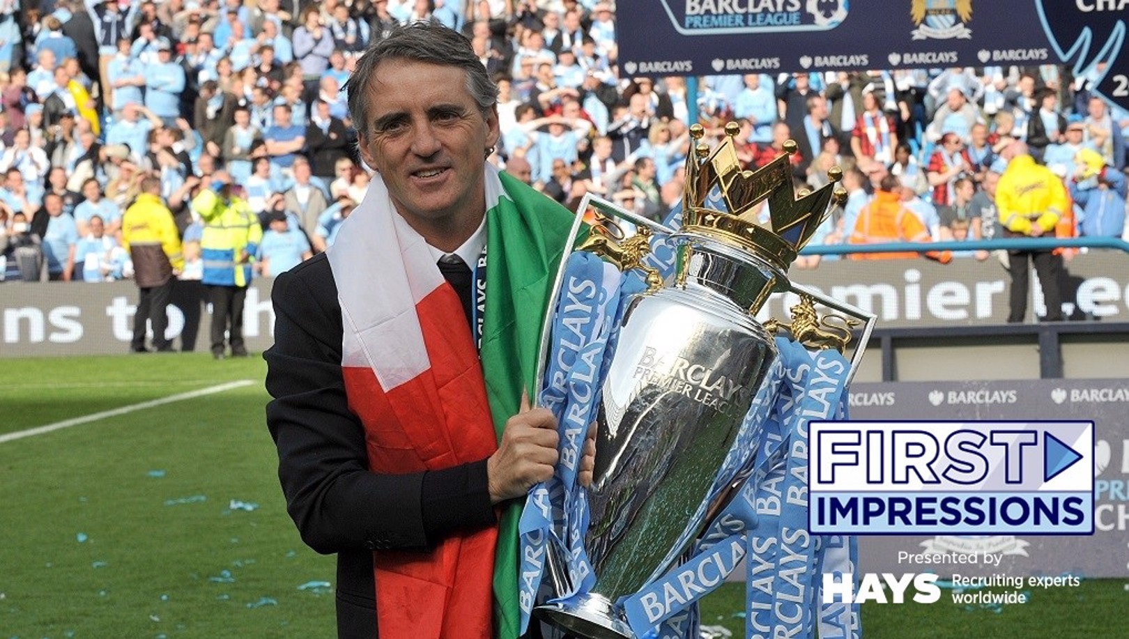 Roberto Mancini He Came From Italy To Manage Man City