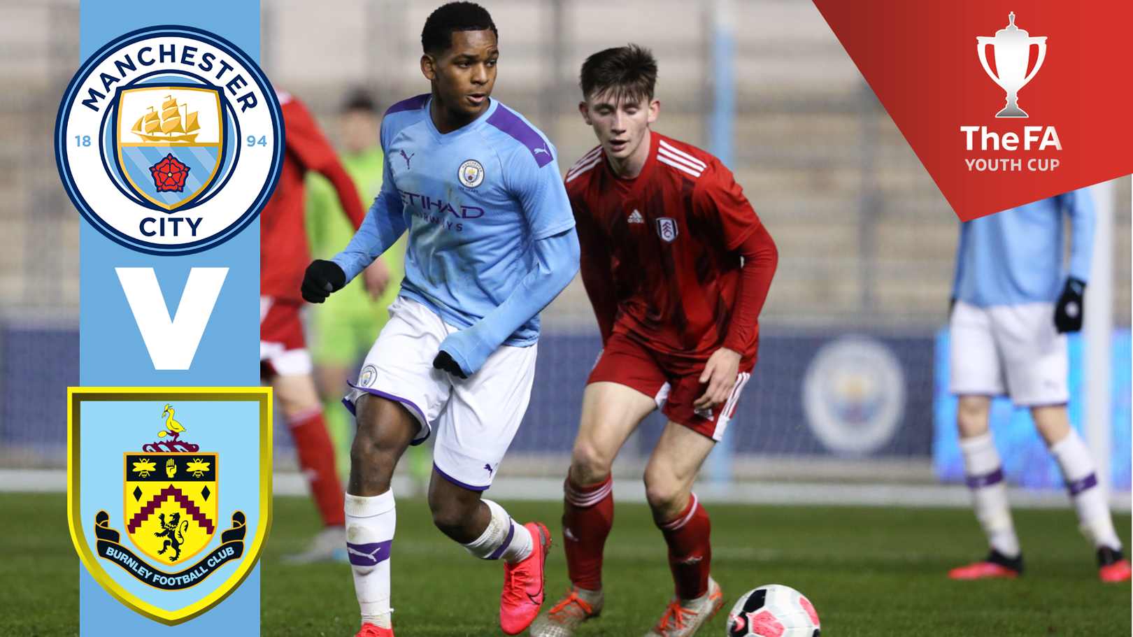 Watch FA Youth Cup quarter-final on CITY+