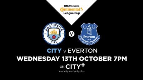 Watch City v Everton live on CITY+