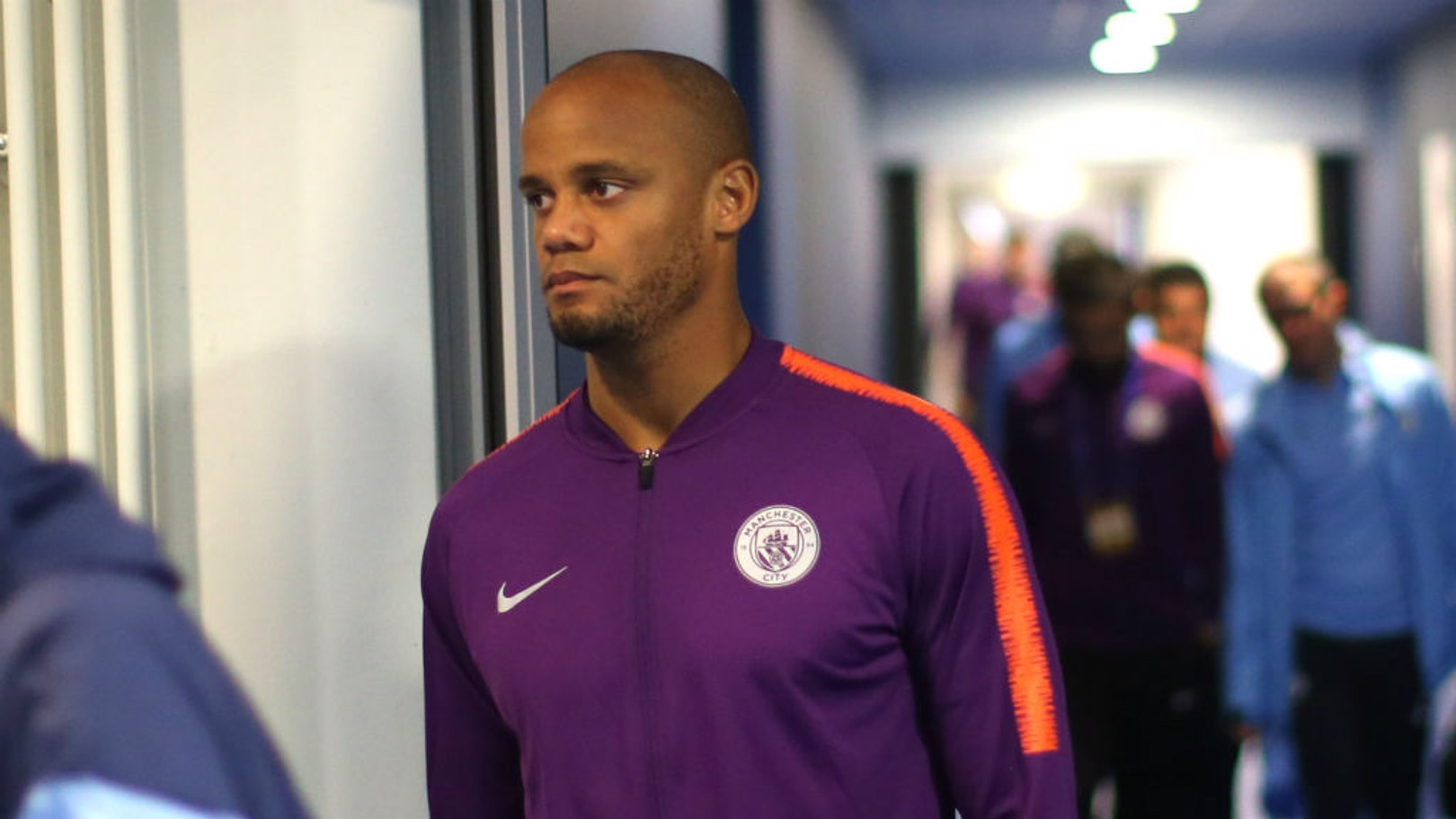 JOB DONE: Vincent Kompany said City's win in Hoffenheim was no less than the side deserved
