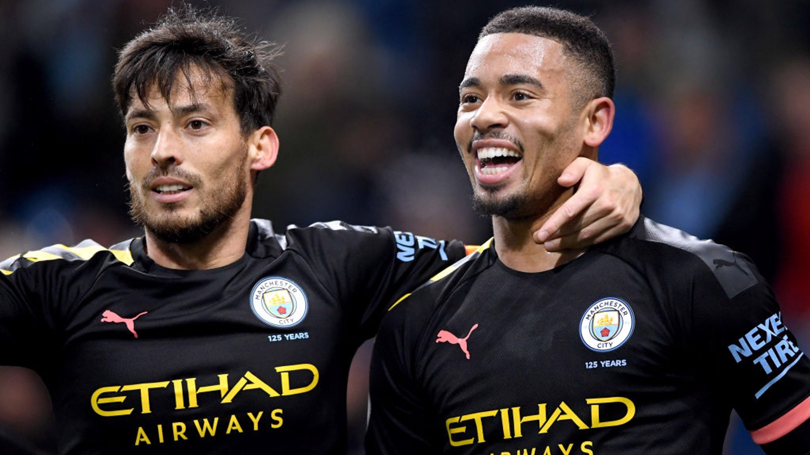 GIFT OF THE GAB: Gabriel Jesus was back on the scoresheet with a brilliant brace against Burnley