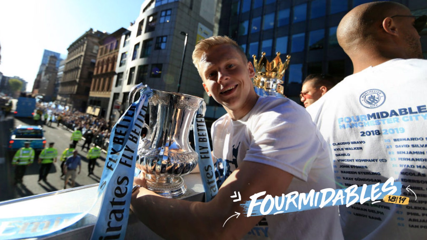 FOURMIDABLES: We take a look back at Zinchenko's fine 2018-19