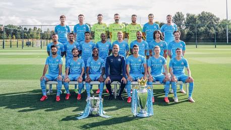 Manchester City 2021-22: Foto oficial revelada