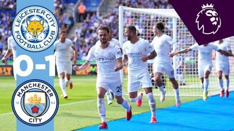 Leicester 0-1 City: resumen breve