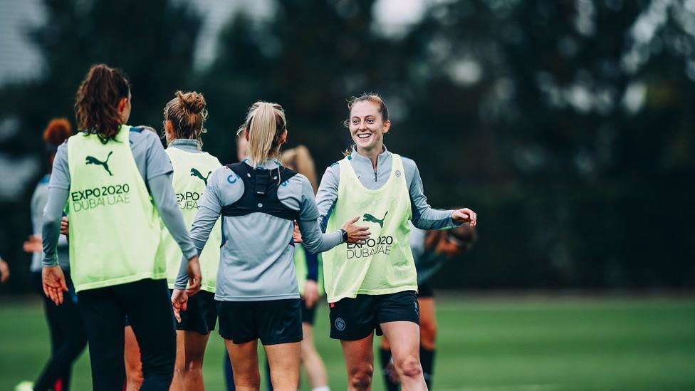 WONDERWALSH : Keira Walsh scored a late winner against Everton in our league meeting last season