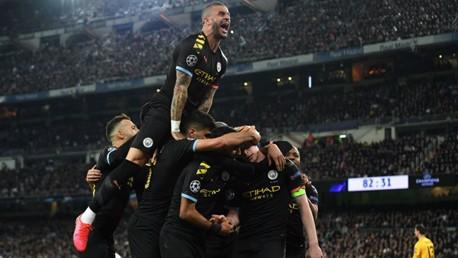 السيتي يهزم  ريال مدريد في ذهاب ثمن نهائي الأبطال