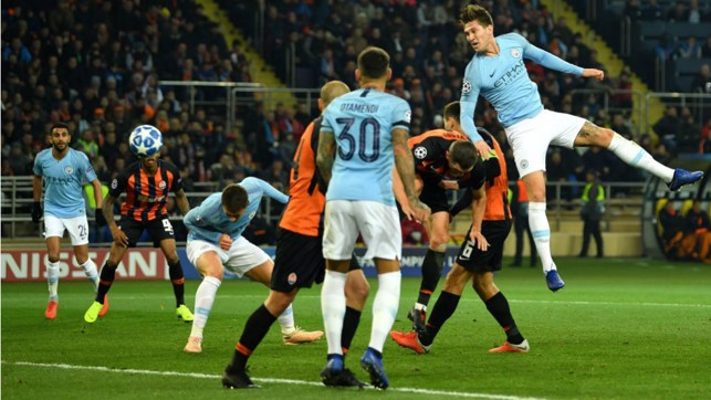 TAKE TWO : Aymeric Laporte doubles our lead by heading in David Silva's corner