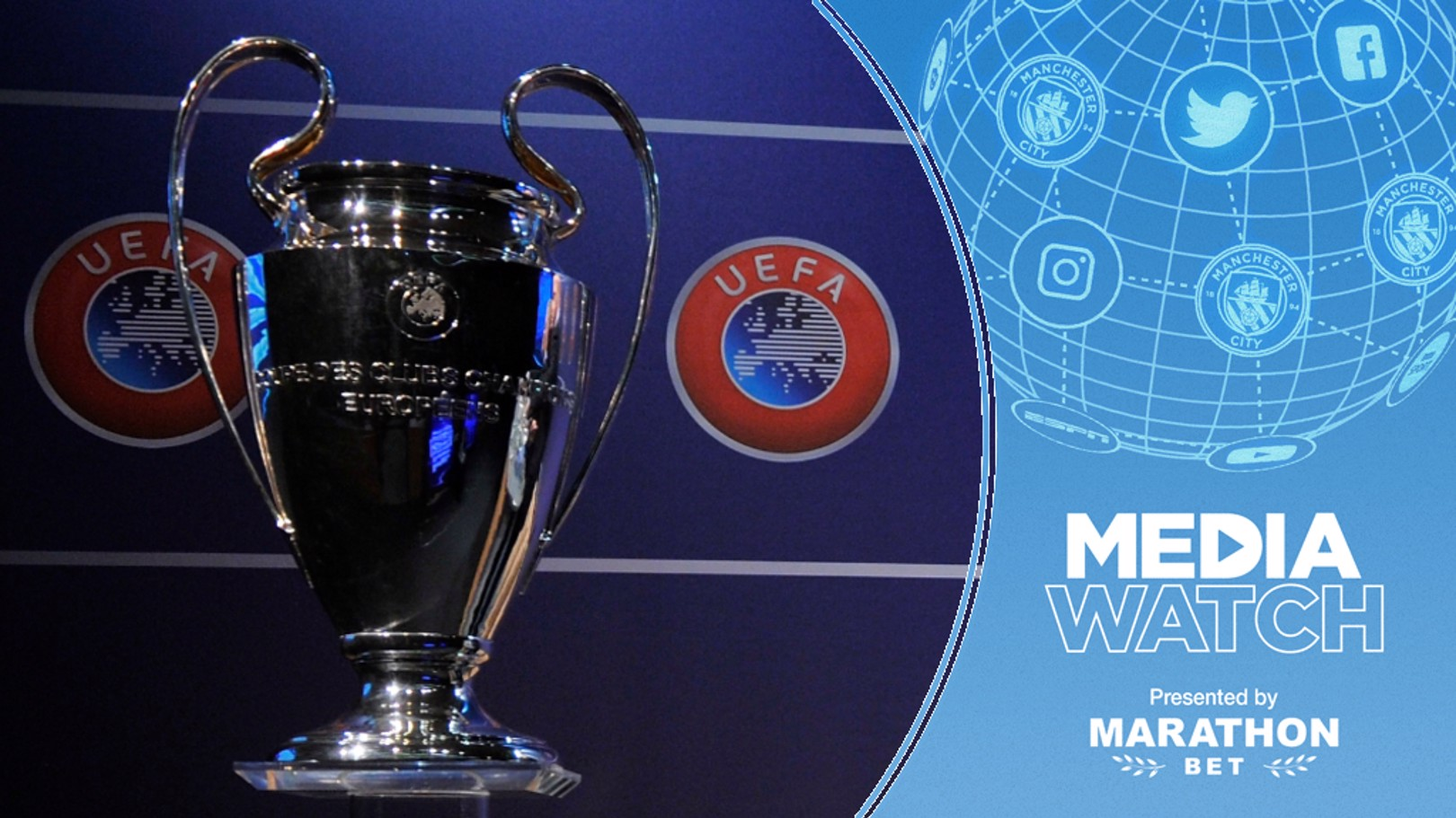 EUROPEAN DREAM: City have been tipped to win the 2019/20 Champions League