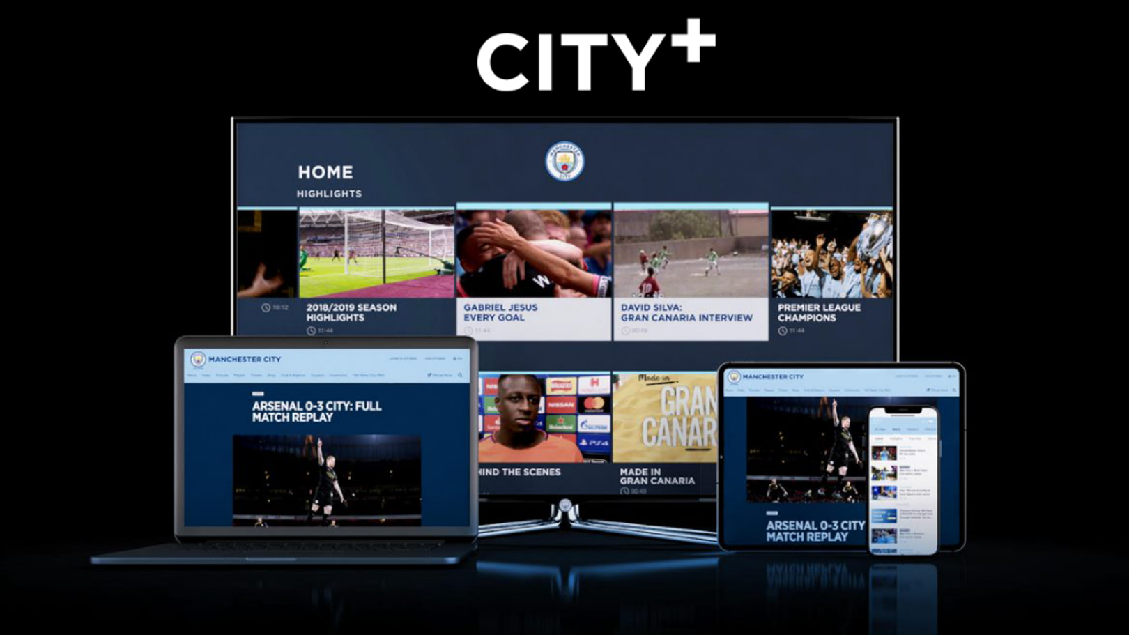 CITY+ FREE TO CITYZENS UNTIL FOOTBALL IS BACK*