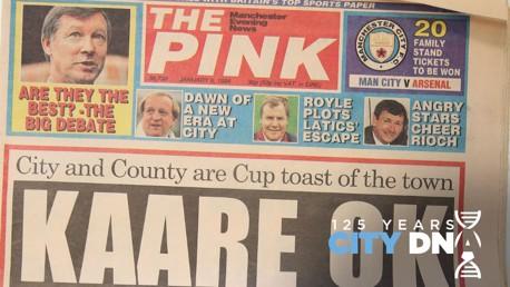 City DNA #11: Surat Kabar The Football Pink