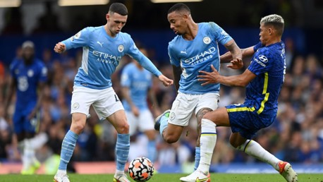 Jesus and Foden start as City make two changes for trip to Anfield