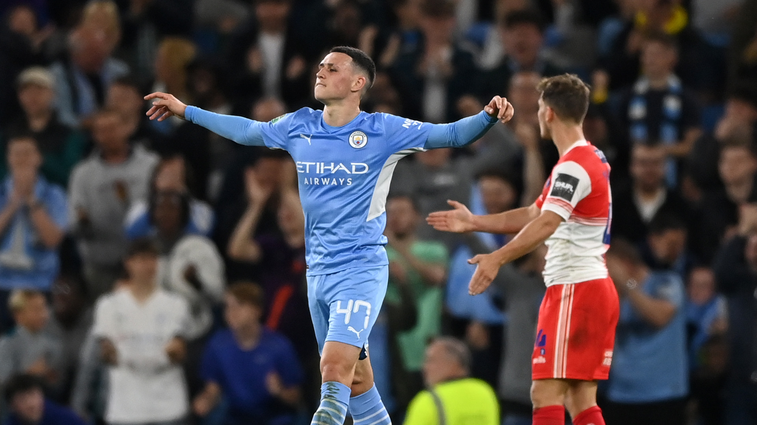Gallery: City get Carabao Cup defence off to flying start
