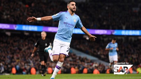 Riyad Mahrez: Carreira no City