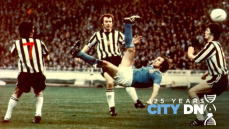 City DNA #72: Dennis Tueart's Wembley wonder goal...
