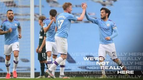 City v Newcastle: Brief highlights