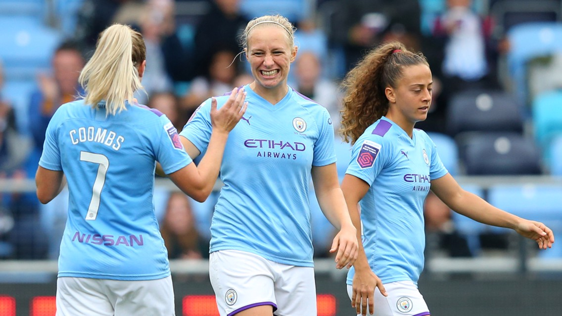 GIRL ON FIRE: Pauline Bremer has scored nine goals in her last eight FA WSL games