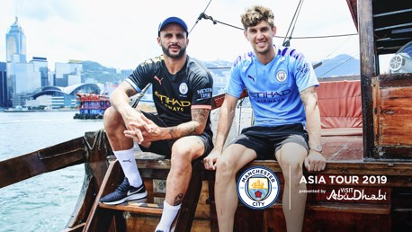 BLUES BROTHERS: Looking sharp in the new PUMA 2019/20 home and away shirts!