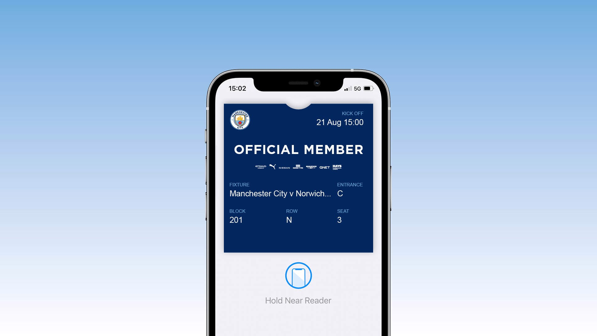 New Membership Pass