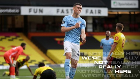 Foden: That was the real City