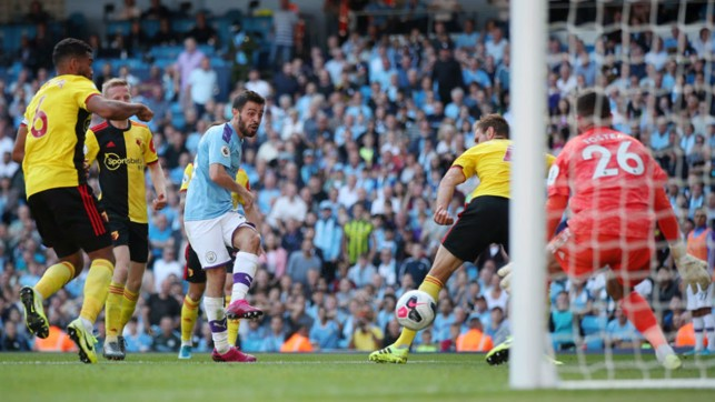 SIX AND THE CITY : Bernardo nets his second and our sixth goal early in the second half