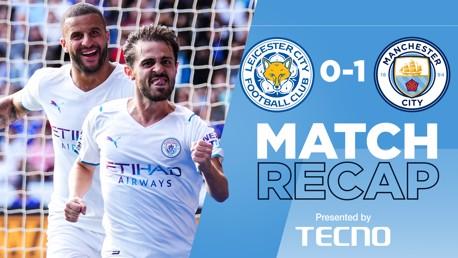 Rekap Pertandingan: Leicester 1-0 City