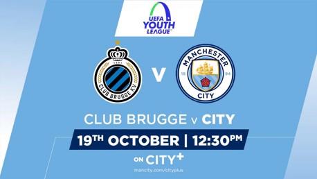 UYL: Watch Club Brugge v City U19s live on CITY+
