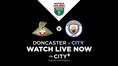 Watch Doncaster v City EDS live on CITY+