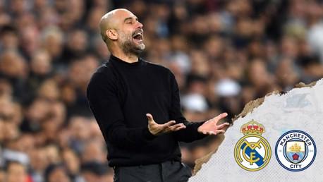 Real Madrid 1-2 City:  Pep Guardiola reaction