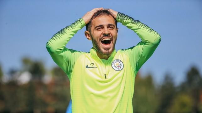 BERNARD-OH! : Something's shocked Bernardo Silva