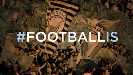 O que é futebol para você? #FootballIs