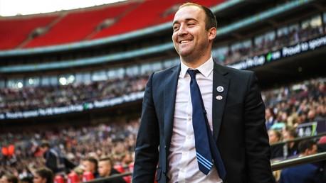 NICK CUSHING: A proud man at Wembley ahead of the 2017 FA Cup Final