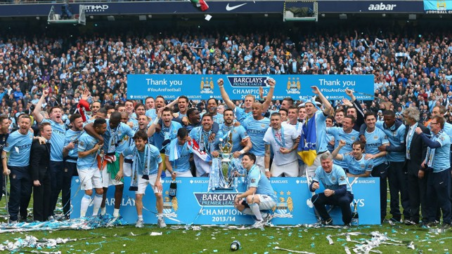 SPOT SILVA TAKE TWO : This time we look for David after he helped City secure the 2013/14 Premier League trophy.