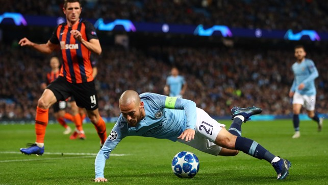 STONEWALL : David Silva wins City's second spot-kick of the night
