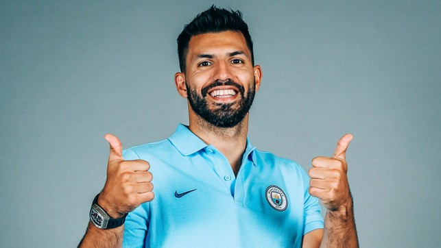 THUMBS UP : Sergio feels the best he has in years