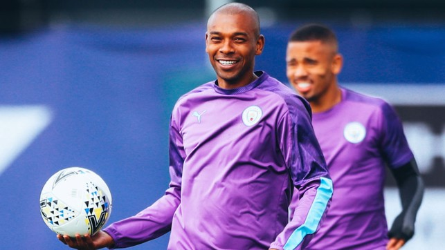 BRAZILIAN BLEND : Fernandinho and Gabriel Jesus are full of Monday motivation!