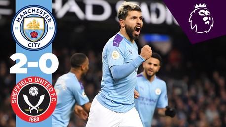 City 2-0 Sheffield Utd: Full match replay