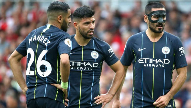 CITY TRIO : What a first half from City!